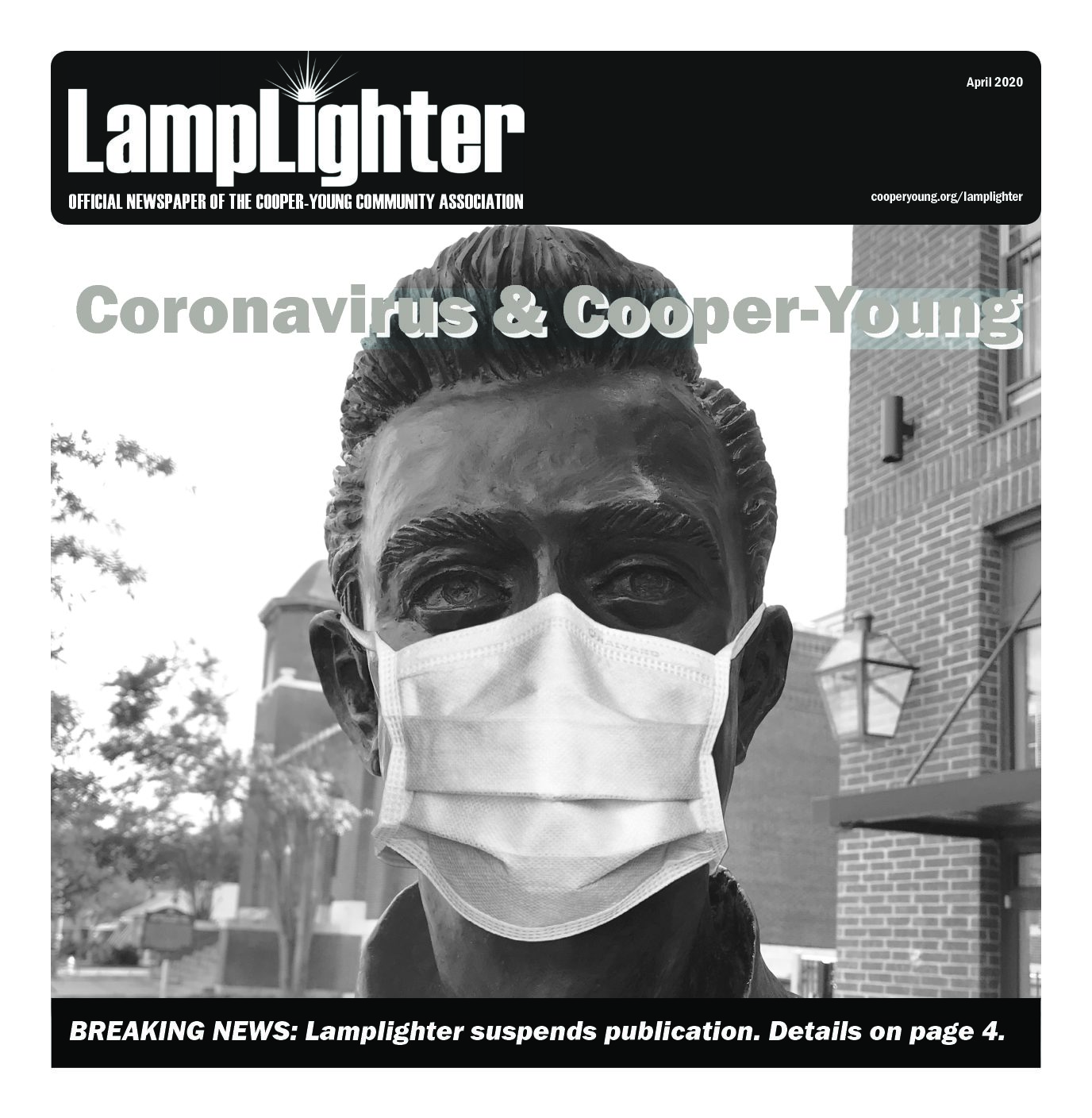 Lamplighter suspends publication