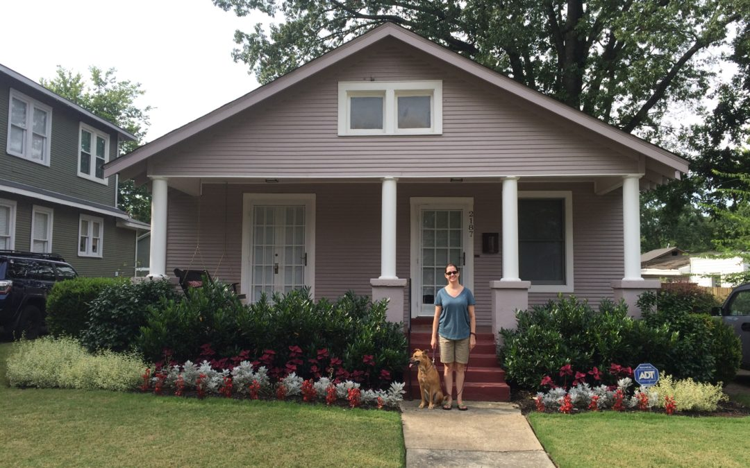 Couple turns Evelyn home into a verdant work of art