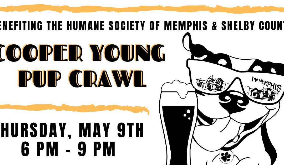 CY pup crawl benefits Humane Society